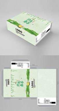 绿色茶叶包装盒设计