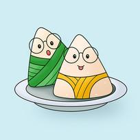 原创元素端午节粽子