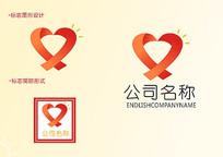现代简约公益logo设计