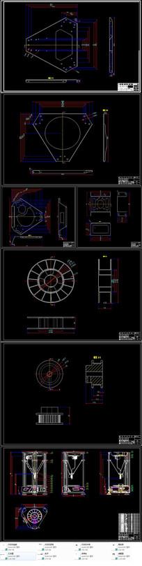 3D打印机CAD设计(含装配图和零件图) CAD
