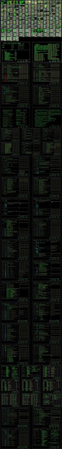 CAD电气及弱电国标符号图集大全