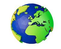 保护环境地球元素