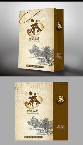 茶叶手提袋包装设计