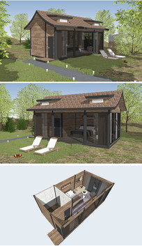美式田园木屋