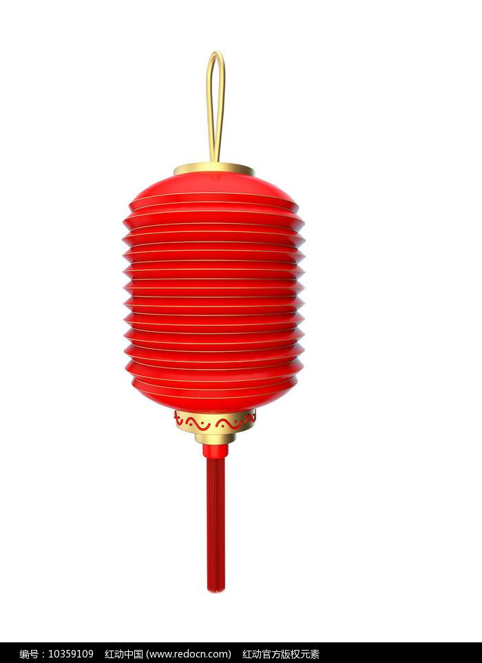 新年红色灯笼