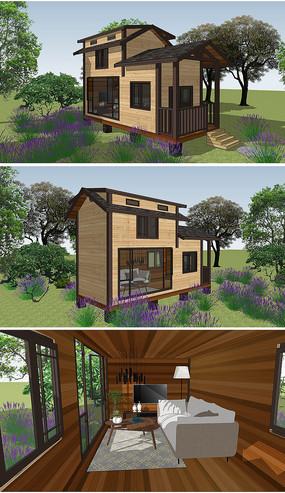 移动木屋别墅