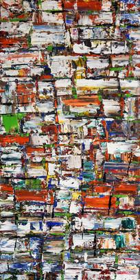 高清抽象艺术油画玄关
