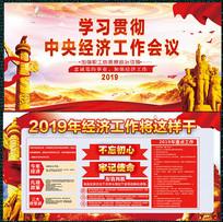 2019中央经济工作会议展板