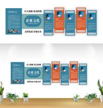 大气创意企业文化墙设计