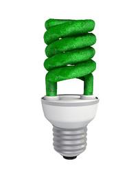 节能环保灯泡元素