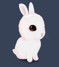 可爱卡通萌小兔子免抠