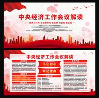 中央经济工作会议解读宣传展板