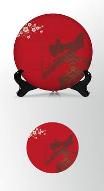 高端礼品茶叶棉纸茶饼包装设计