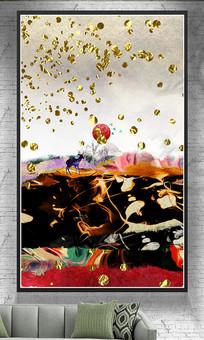色彩新中式艺术壁画