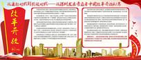 深圳改革开放41周年创意展板