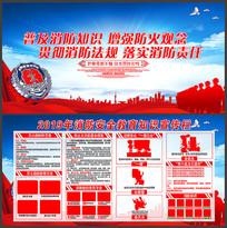 2019年消防安全知识宣传展板