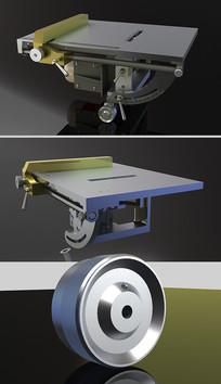 环形锯片模具Solidworks模型