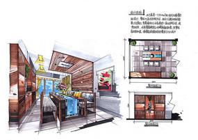 现代餐厅室内设计