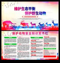 保护动物安全知识宣传栏