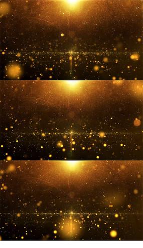 大气磅礴的金色粒子颁奖背景视频