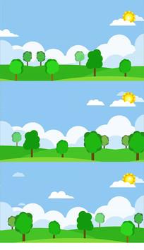欢乐六一少儿卡通舞蹈背景视频素材