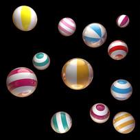 球漂浮物 PSD
