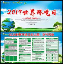 2019世界环境日宣传展板