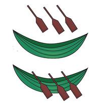 端午节竹叶船