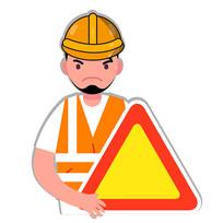 生产安全标志示意图