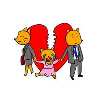 原创元素手绘儿童合法保护权益