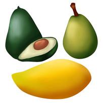 原创元素手绘水果3