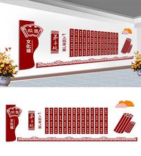 弟子规文化墙设计