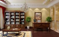 古典书房3D模型