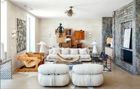 现代前卫风格的客厅