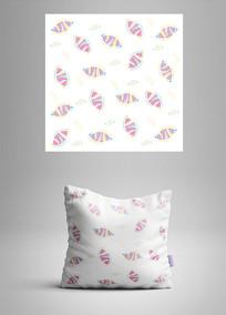 抱枕织物花纹设计