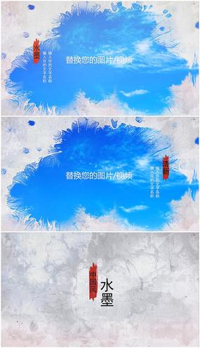 会声会影中国风水墨视频模板