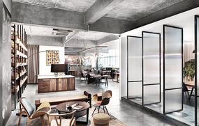 设计办公室内设计 JPG