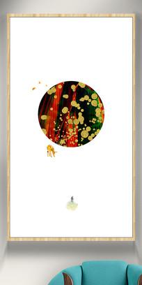餐厅装饰画彩色挂画