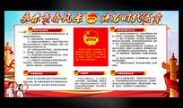 共青团宣传宣传展板
