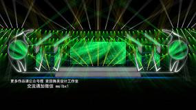 麦田舞美设计音乐节舞美效果图定制