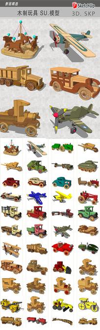 木制玩具模型