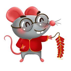 鼠年原创卡通人物造型