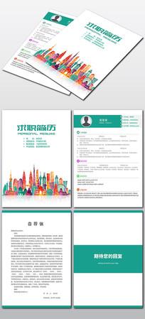 房地产行业个人求职简历设计