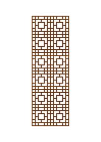 古风雕花玄关模板