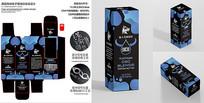 简洁电子烟油包装盒设计 CDR