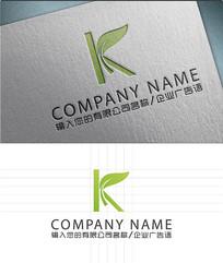k字母LOGO标志设计