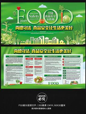 2019食品安全宣传展板