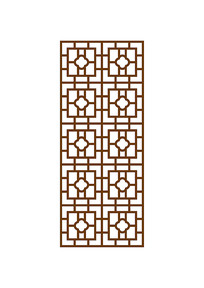 复古雕花玄关模板