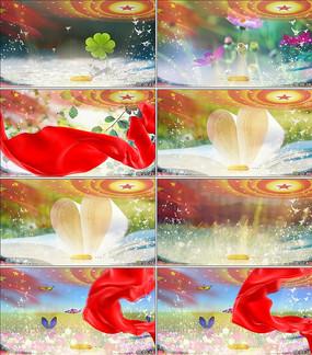春天的芭蕾歌曲背景视频素材