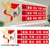 党政宣传文化墙设计